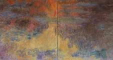 Claude Monet: Le bassin aux nymphéas, le soir, um 1916/22