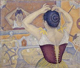 6)ポール・シニャック「髪を結う女、作品227」280-239