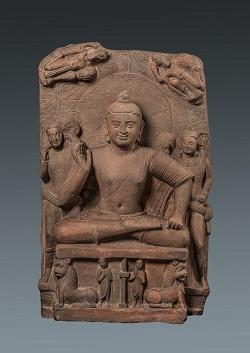 5)仏坐像250 353