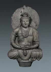 6)弥勒菩薩坐像200